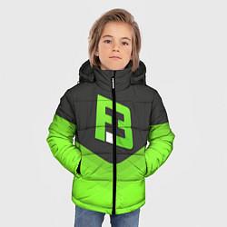 Куртка зимняя для мальчика FlipSid3 Uniform цвета 3D-черный — фото 2