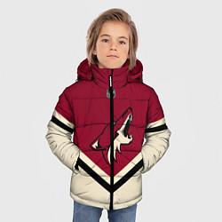 Куртка зимняя для мальчика NHL: Arizona Coyotes цвета 3D-черный — фото 2
