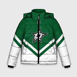 Куртка зимняя для мальчика NHL: Dallas Stars цвета 3D-черный — фото 1