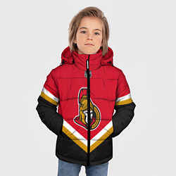 Куртка зимняя для мальчика NHL: Ottawa Senators цвета 3D-черный — фото 2