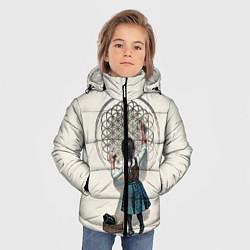 Куртка зимняя для мальчика Bring Me The Horizon цвета 3D-черный — фото 2