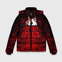 Куртка зимняя для мальчика Dawn of the Doge цвета 3D-черный — фото 1