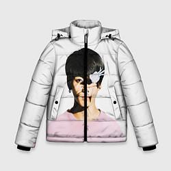 Куртка зимняя для мальчика Jungkook цвета 3D-черный — фото 1