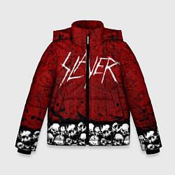 Куртка зимняя для мальчика Slayer Red цвета 3D-черный — фото 1