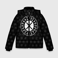 Куртка зимняя для мальчика Защита Одина цвета 3D-черный — фото 1