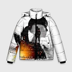 Куртка зимняя для мальчика Rise of the Tomb Raider 1 цвета 3D-черный — фото 1