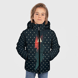 Куртка зимняя для мальчика Dark Force цвета 3D-черный — фото 2
