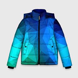 Куртка зимняя для мальчика Fight Polygon цвета 3D-черный — фото 1