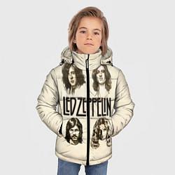 Куртка зимняя для мальчика Led Zeppelin Guys цвета 3D-черный — фото 2