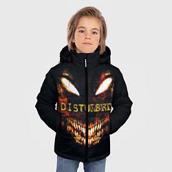 Куртка зимняя для мальчика Disturbed Demon цвета 3D-черный — фото 2