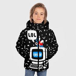 Куртка зимняя для мальчика Fatal Error цвета 3D-черный — фото 2