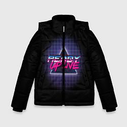Куртка зимняя для мальчика Ready Up Live цвета 3D-черный — фото 1