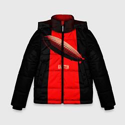 Куртка зимняя для мальчика Led Zeppelin: Red line - фото 1