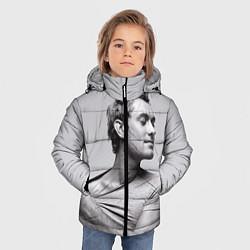 Куртка зимняя для мальчика Джуд Лоу цвета 3D-черный — фото 2