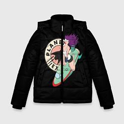 Куртка зимняя для мальчика Leela Express цвета 3D-черный — фото 1