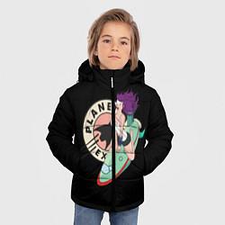 Детская зимняя куртка для мальчика с принтом Leela Express, цвет: 3D-черный, артикул: 10127239106063 — фото 2