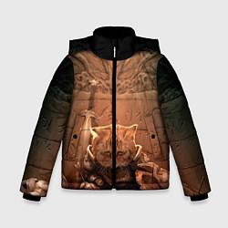Куртка зимняя для мальчика Довакин цвета 3D-черный — фото 1
