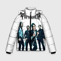 Куртка зимняя для мальчика Paparoach Band цвета 3D-черный — фото 1