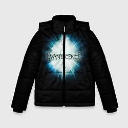 Куртка зимняя для мальчика Evanescence Explode цвета 3D-черный — фото 1