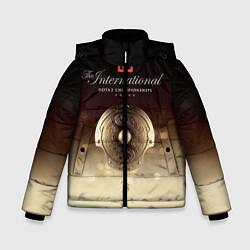 Куртка зимняя для мальчика The International Championships цвета 3D-черный — фото 1