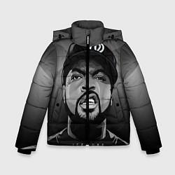 Куртка зимняя для мальчика Ice Cube: Gangsta цвета 3D-черный — фото 1