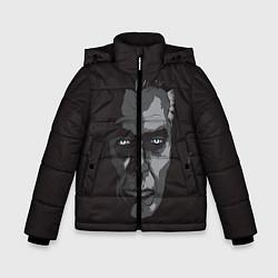 Куртка зимняя для мальчика G-Man Face цвета 3D-черный — фото 1