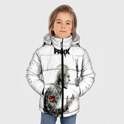 Куртка зимняя для мальчика Bennington Song цвета 3D-черный — фото 2