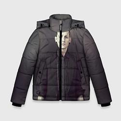 Куртка зимняя для мальчика Честер Беннингтон цвета 3D-черный — фото 1