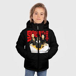 Куртка зимняя для мальчика SOAD: Wok цвета 3D-черный — фото 2