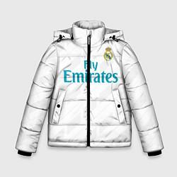 Куртка зимняя для мальчика Real Madrid цвета 3D-черный — фото 1
