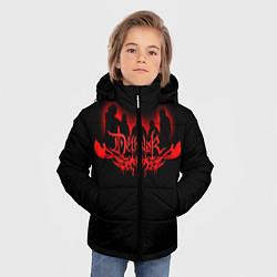 Детская зимняя куртка для мальчика с принтом Dethklok, цвет: 3D-черный, артикул: 10134391306063 — фото 2