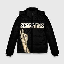 Куртка зимняя для мальчика Scorpions Rock цвета 3D-черный — фото 1