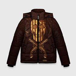 Куртка зимняя для мальчика Taboo Duel цвета 3D-черный — фото 1