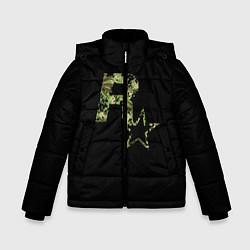 Куртка зимняя для мальчика Rockstar цвета 3D-черный — фото 1