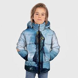 Куртка зимняя для мальчика Battlefield Warrior цвета 3D-черный — фото 2