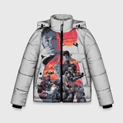 Куртка зимняя для мальчика Halo Wars цвета 3D-черный — фото 1