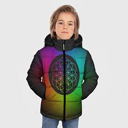 Куртка зимняя для мальчика Coldplay Colour цвета 3D-черный — фото 2