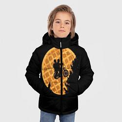 Детская зимняя куртка для мальчика с принтом Wafer Rider, цвет: 3D-черный, артикул: 10135944906063 — фото 2