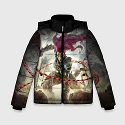 Куртка зимняя для мальчика Darksiders Warrior цвета 3D-черный — фото 1