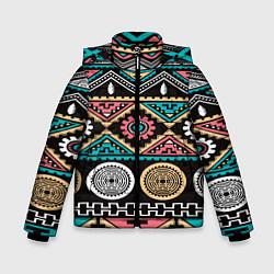 Куртка зимняя для мальчика Этника цвета 3D-черный — фото 1
