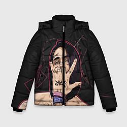 Куртка зимняя для мальчика Face Star цвета 3D-черный — фото 1