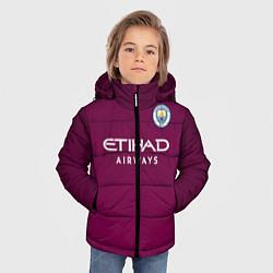 Куртка зимняя для мальчика Man City FC: Away 17/18 цвета 3D-черный — фото 2