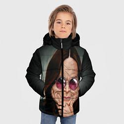 Куртка зимняя для мальчика Оззи Осборн цвета 3D-черный — фото 2