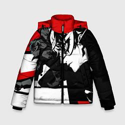 Куртка зимняя для мальчика Persona 5 цвета 3D-черный — фото 1