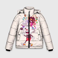 Куртка зимняя для мальчика Cuphead: Street Art цвета 3D-черный — фото 1