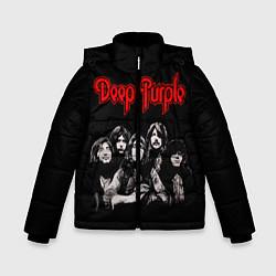 Куртка зимняя для мальчика Deep Purple цвета 3D-черный — фото 1