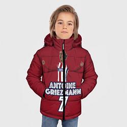Куртка зимняя для мальчика Antoine Griezmann 7 цвета 3D-черный — фото 2