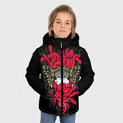 Куртка зимняя для мальчика Горгона Медуза - фото 2