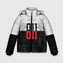 Детская зимняя куртка для мальчика с принтом Stranger Things 011, цвет: 3D-черный, артикул: 10140033306063 — фото 1