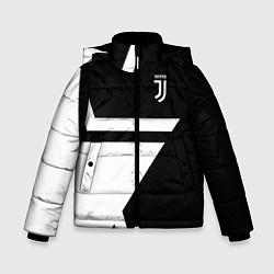 Куртка зимняя для мальчика FC Juventus: Star цвета 3D-черный — фото 1